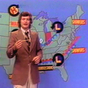 David Letterman was a weatherman, but not for NASA